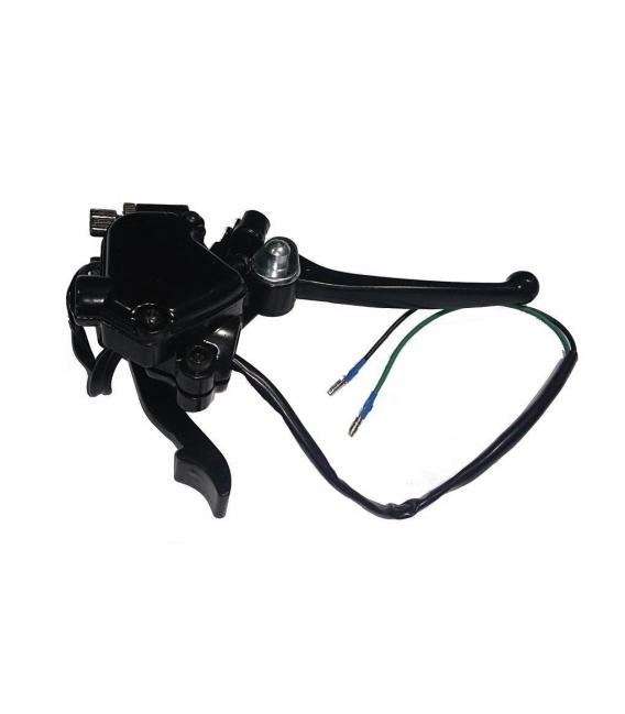Throttle trigger + brake lever