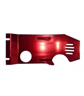 Aluminum skid plate red yx/zs