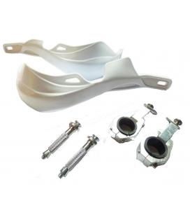 Cubremanos aluminio 22/28mm blanco
