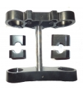 Clamps assy with axle