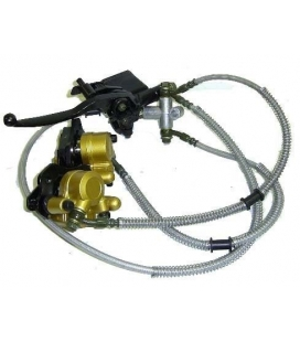 Front brake assy mini atv