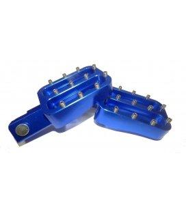 Cnc footpeg alloy blue