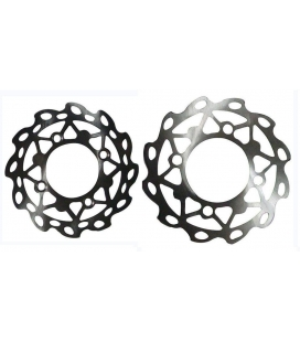 Flower shape disc + screws