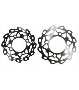 Flower shape disc + screws