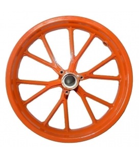 Orange rim kxd minicross