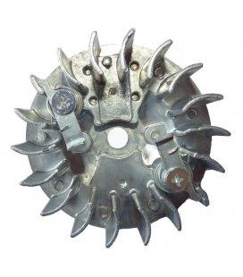 Magnetic plate starter