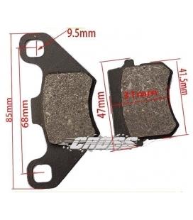 Pastillas de frenos D3 Miniquad Kf8