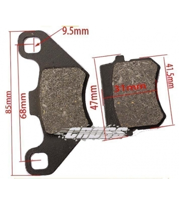 BRAKE PADS D3 PIT BIKE