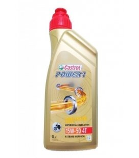 Oil castrol power 1 15w50