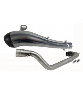 Exhaust turbokit min25 carbon