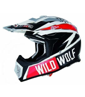 CASCO CROSS WILD WOLF