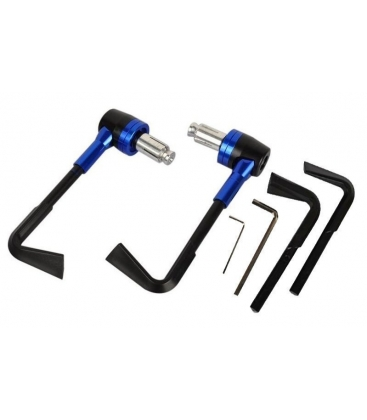 Cover handlebar cnc blue