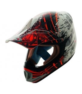 Casco de cross infantil shiro mx Brigade