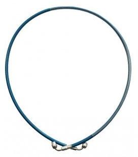 Latiguillo metalico 1100mm azul
