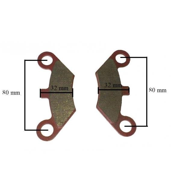 Buggy brake pads