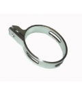 Exhaust oval clamp