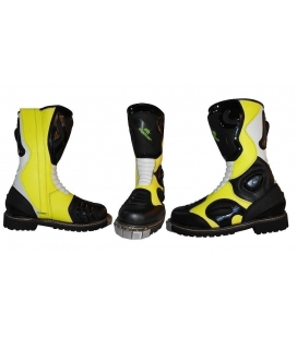 Boots off road fluor color