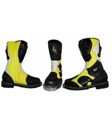 Botas de cross color fluor