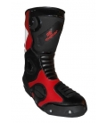 Botas de supermotard color rojo o azul