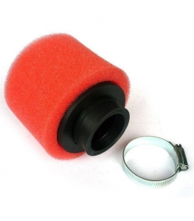 Air filter uni 38mm droit