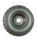 Wheel front with tire 8inch