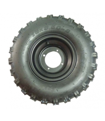 Wheel rear with tire 8inch