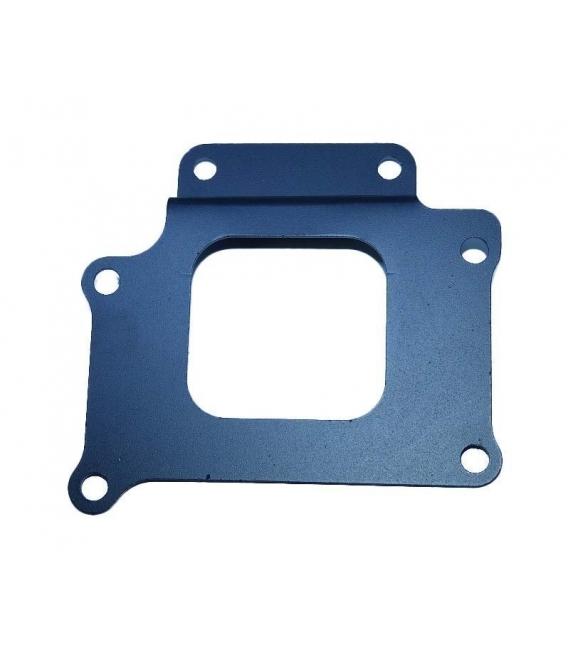 Bracket fit frame for 2 oil cooler