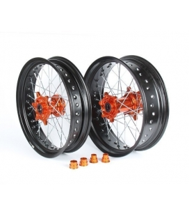 Rims supermotard KTM CNC hubs