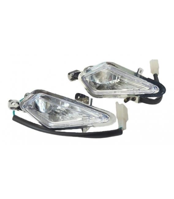 Front light electric atv