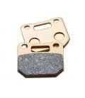 Sintered radial brake pads