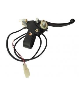 Soporte y maneta derecha miniquad electrico