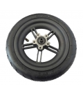 Rear wheel with tire for xiomi skateboard