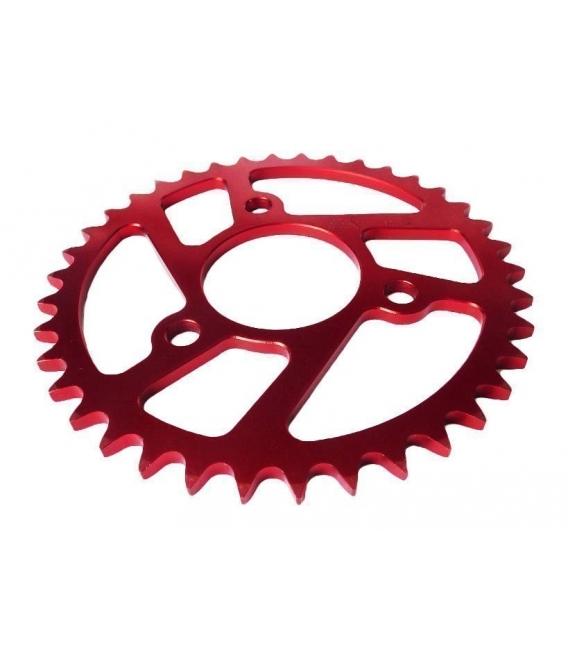Rear sprocket MALCOR 3 hole Red
