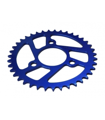 Rear sprocket MALCOR 3 hole Blue