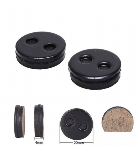 Brake pads for electric skateboard