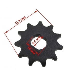Front sprocket electric skateboard T8F