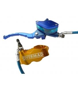 Radial brake assy overmad