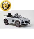 Electric car Mercedes SLS AMG