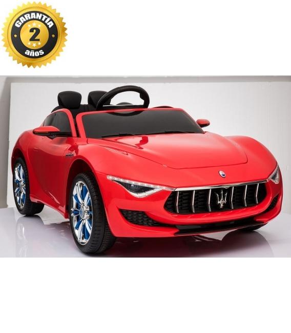 Electric car Maserati Alfieri red