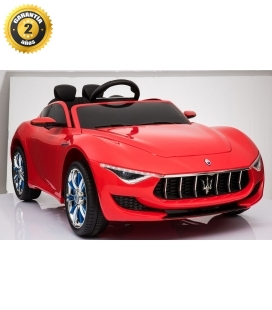 Electric car Maserati Alfieri red