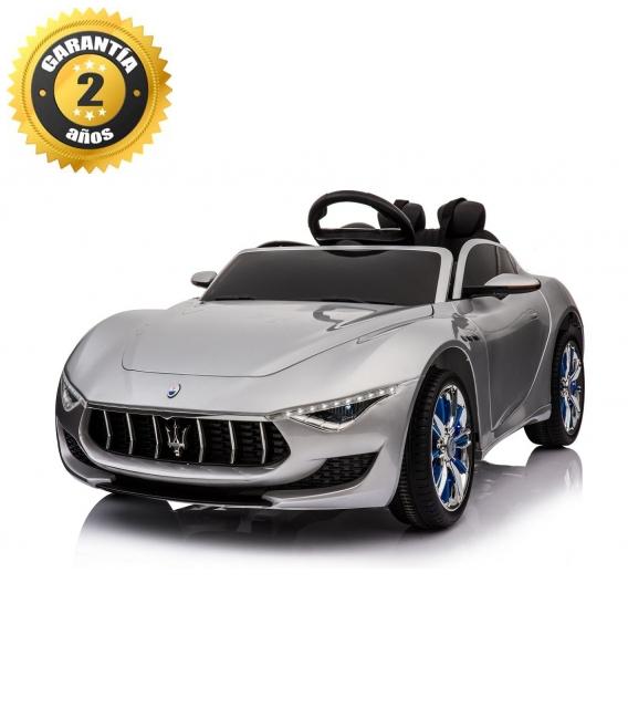 Electric car Maserati Alfieri silver