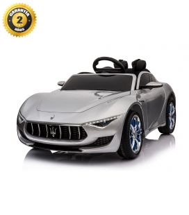 Electric car Maserati Alfieri silver
