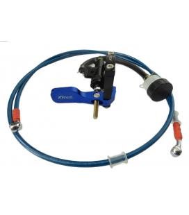 Rear brake hand pit bikes blue
