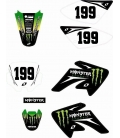 Monster energy stickers crf70