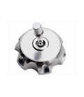 Tank cap aluminum color