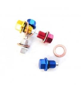 Magnetic drain plug cnc