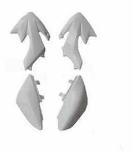 Plasticos sueltos crf50 blancos