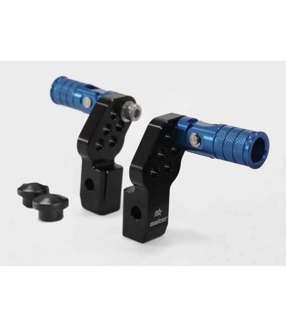 Mobile footrest cnc blue