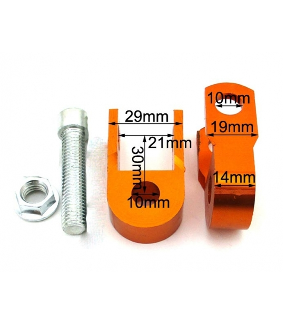 Adapter of cnc shock absorber