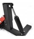 Steel adjustable bike stand